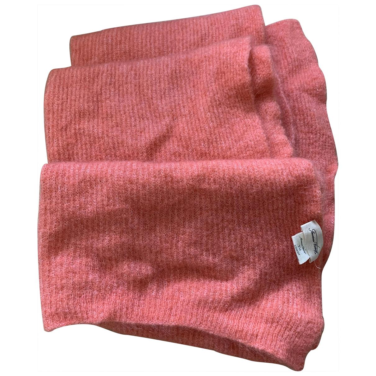 American Vintage \N Schal in  Rosa Wolle