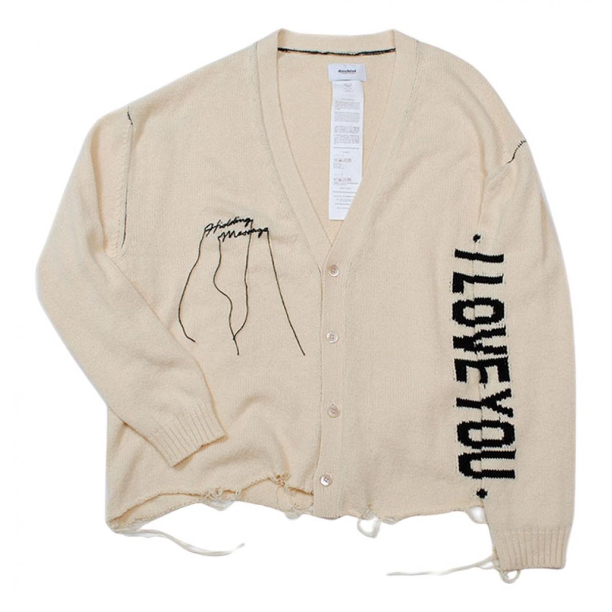 Doublet N White Cotton Knitwear for Women M International