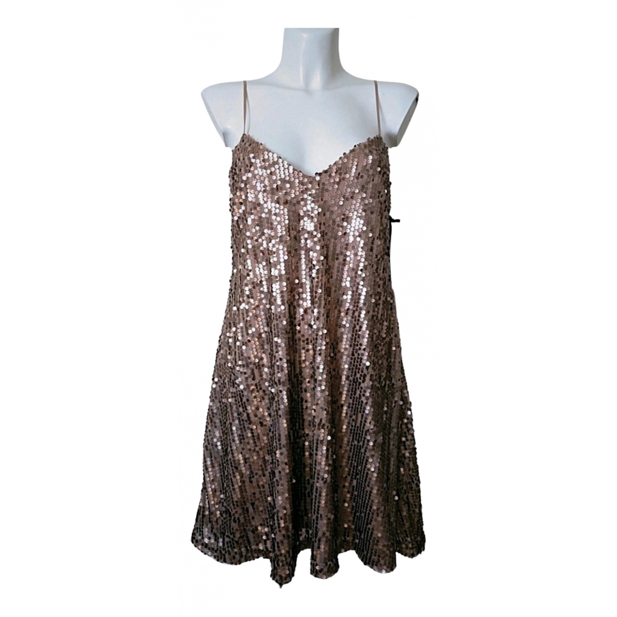 Hale Bob \N Kleid in  Rosa Mit Pailletten