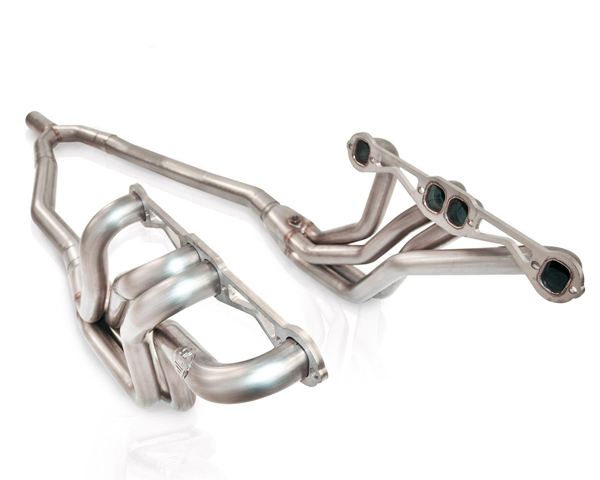 Stainless Works 8292175 1.75in Primary | 2.5in Collector Headers with Y-Pipe Chevrolet Camaro SB V8 Auto Trans 82-92