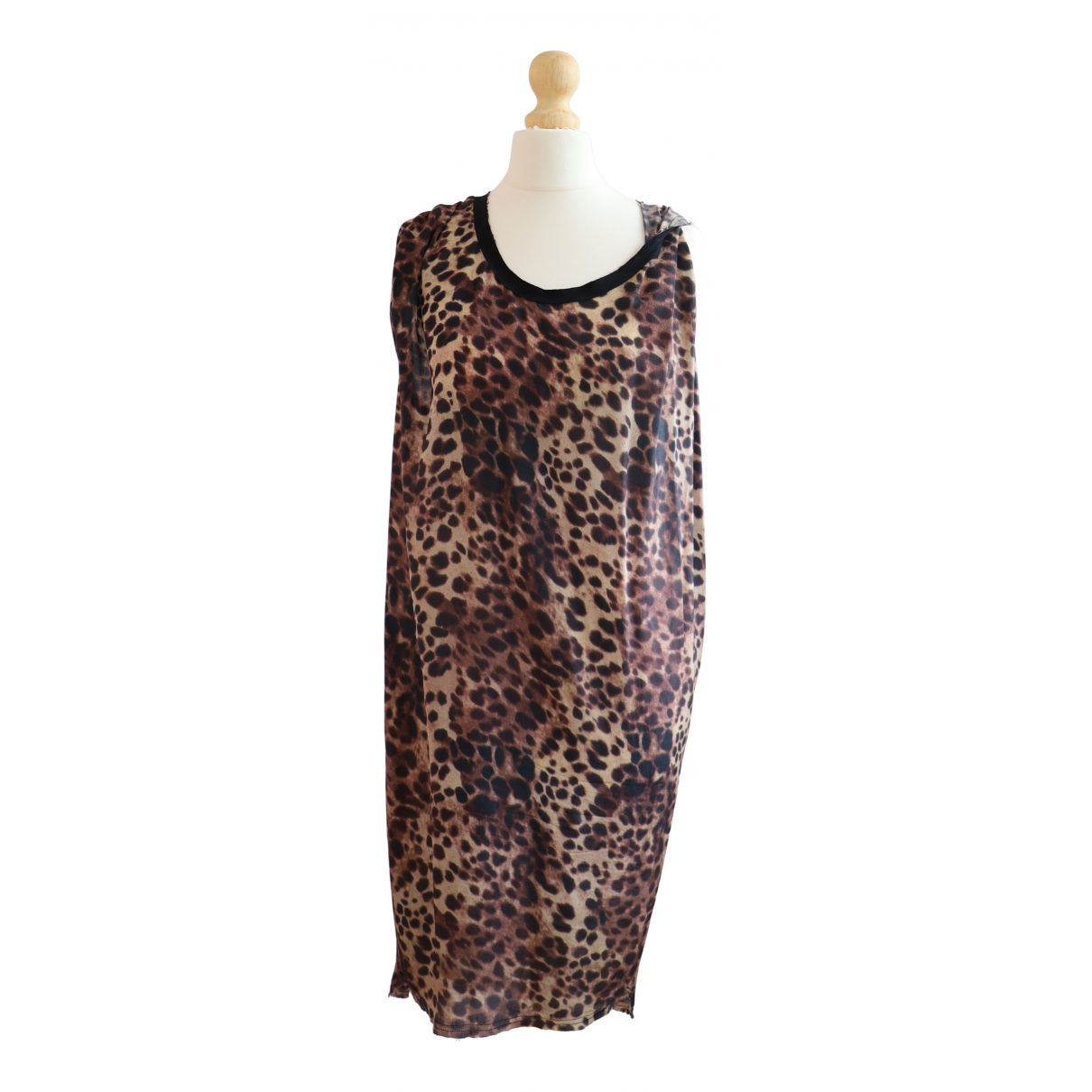 Isabel Marant Etoile \N Kleid in  Braun Seide