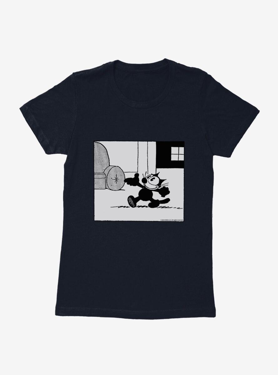 Felix The Cat It's A Good Day Womens T-Shirt
