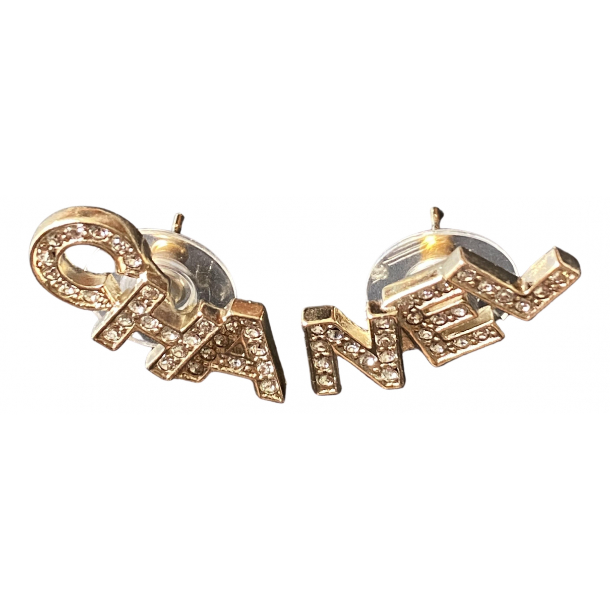 Chanel CHANEL Gold Metal Earrings for Women \N