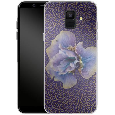 Samsung Galaxy A6 Silikon Handyhuelle - Iris Drawing Meditation von Kaitlyn Parker