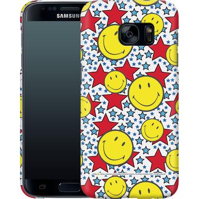 Samsung Galaxy S7 Smartphone Huelle - Preppy Colors von Smiley®