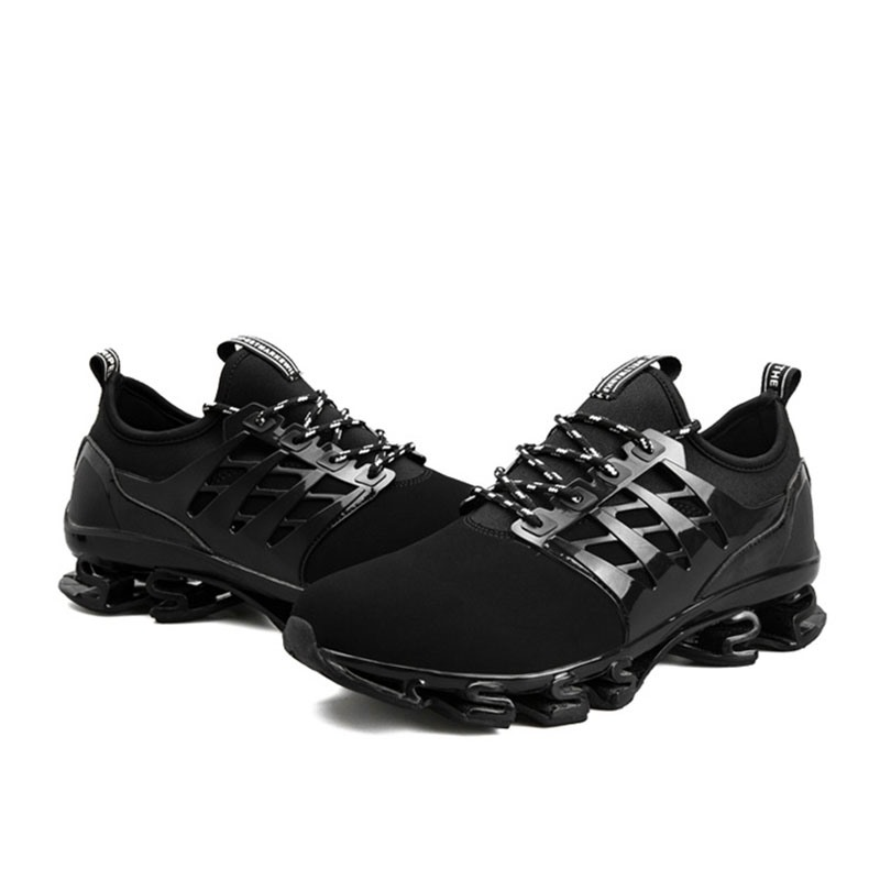 Ericdress Lace-Up Color Block Patchwork Men's Sneakers
