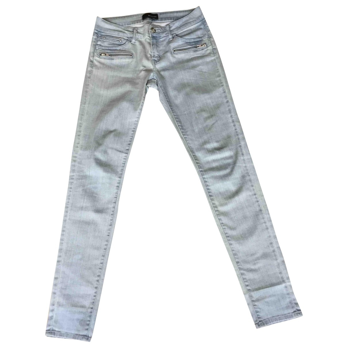 The Kooples \N Blue Cotton - elasthane Jeans for Women 37 FR