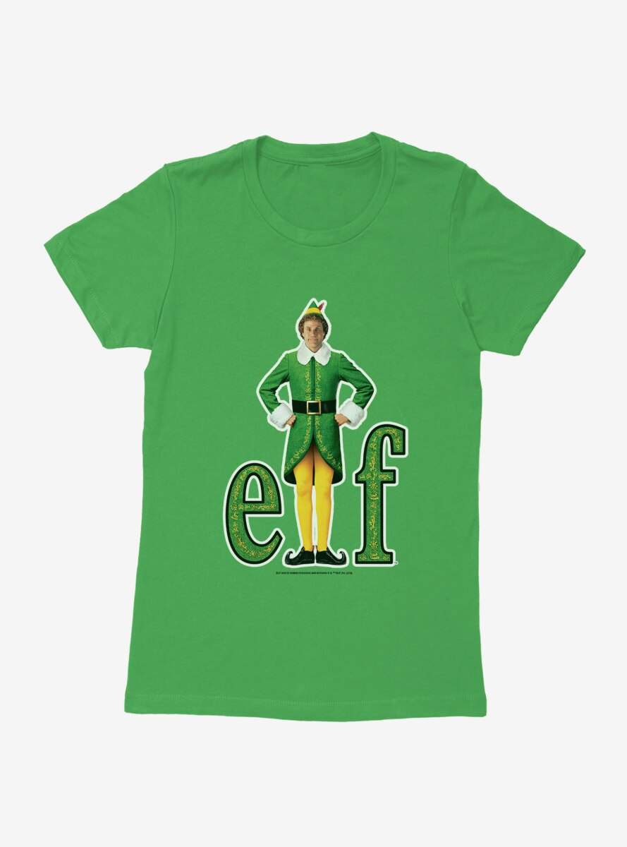 Elf Classic Logo White Trace Womens T-Shirt