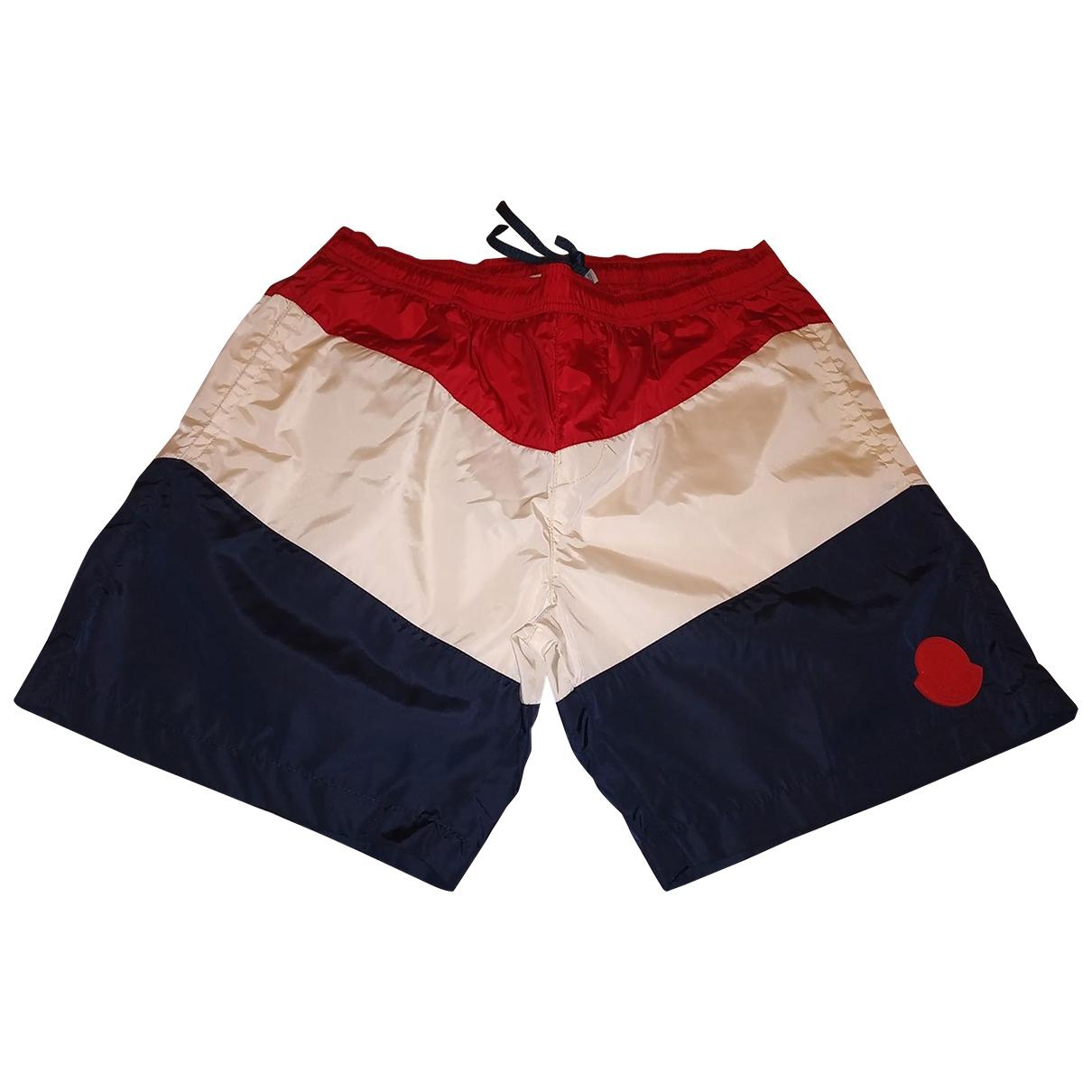 Moncler \N Shorts in  Bunt Polyester