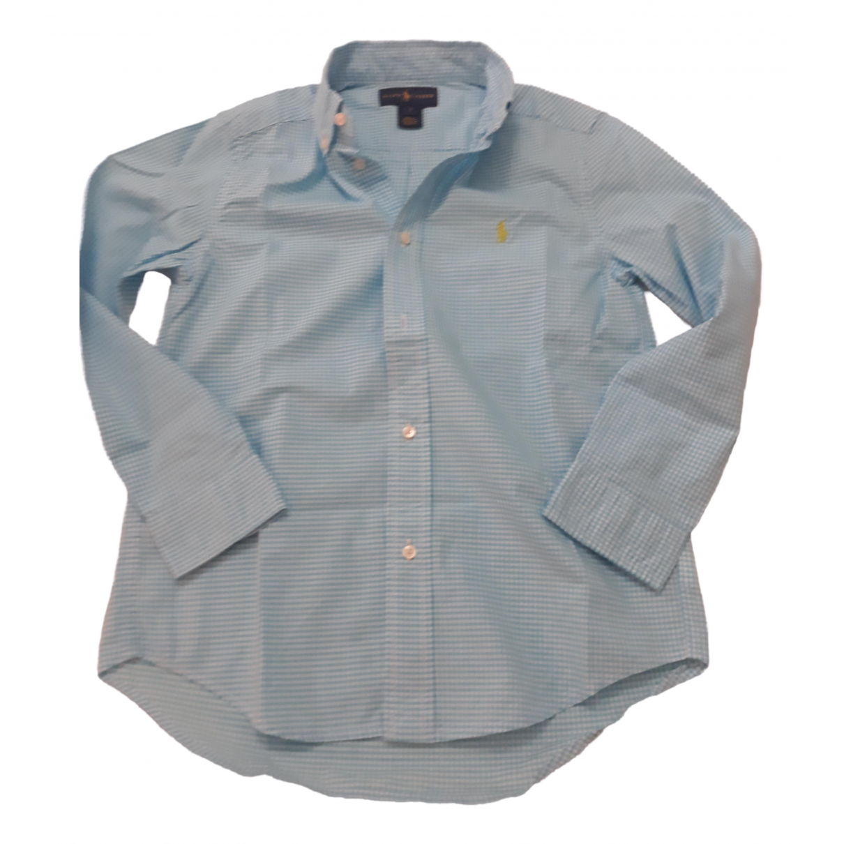 Ralph Lauren \N Turquoise Cotton  top for Kids 8 years - up to 128cm FR