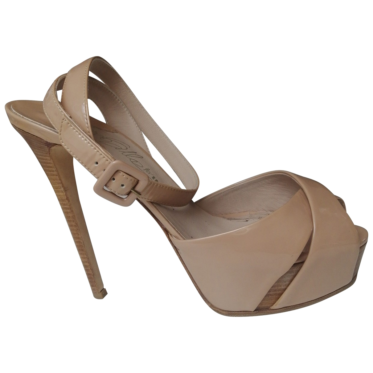 Le Silla \N Sandalen in  Beige Leder