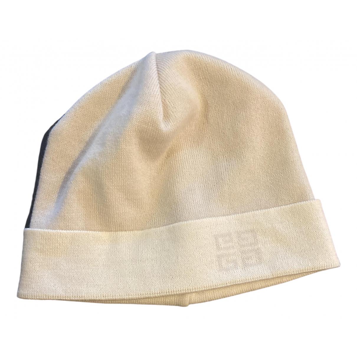 Givenchy - Chapeau & Bonnets   pour homme en laine - ecru