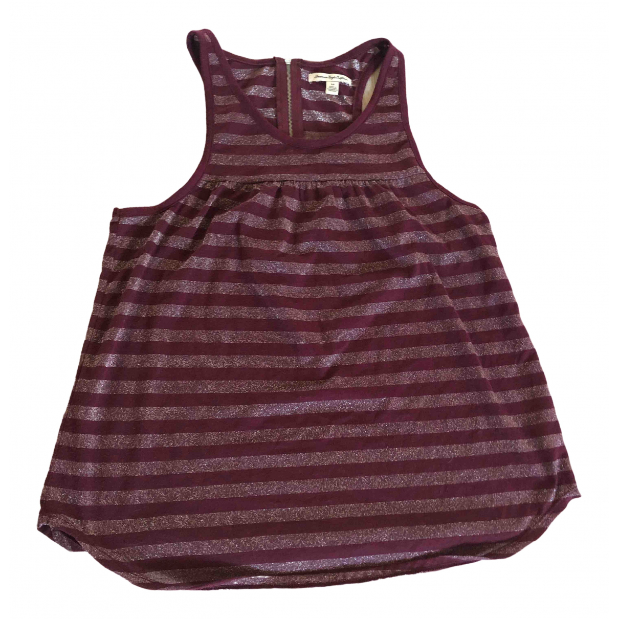 American Outfitters \N Burgundy  top for Women S International