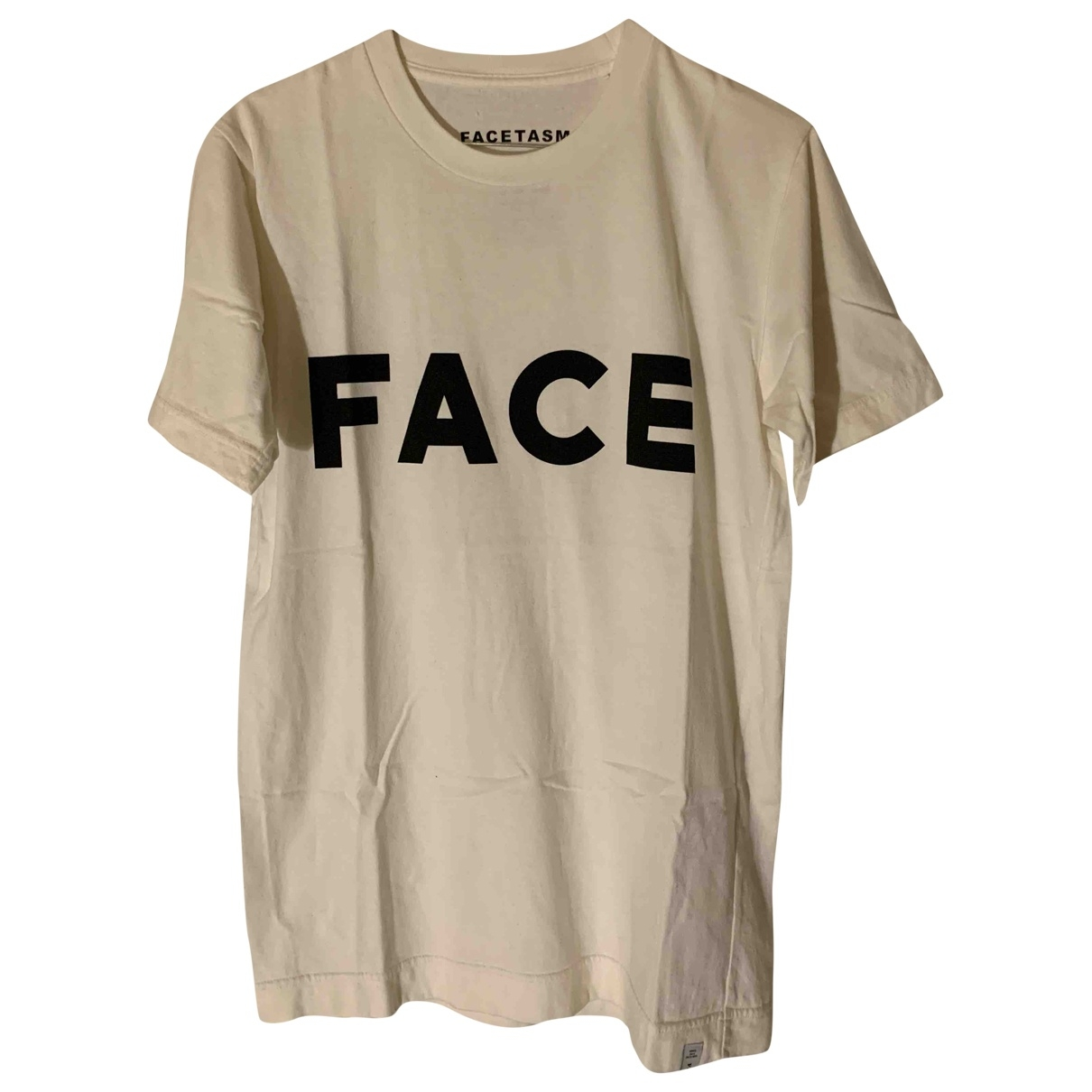 Facetasm \N T-Shirts in  Weiss Baumwolle