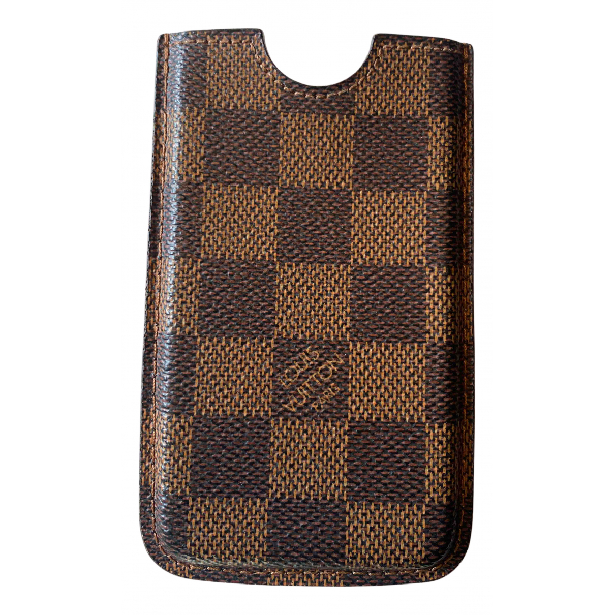 Louis Vuitton N Brown Cloth Accessories for Life & Living N