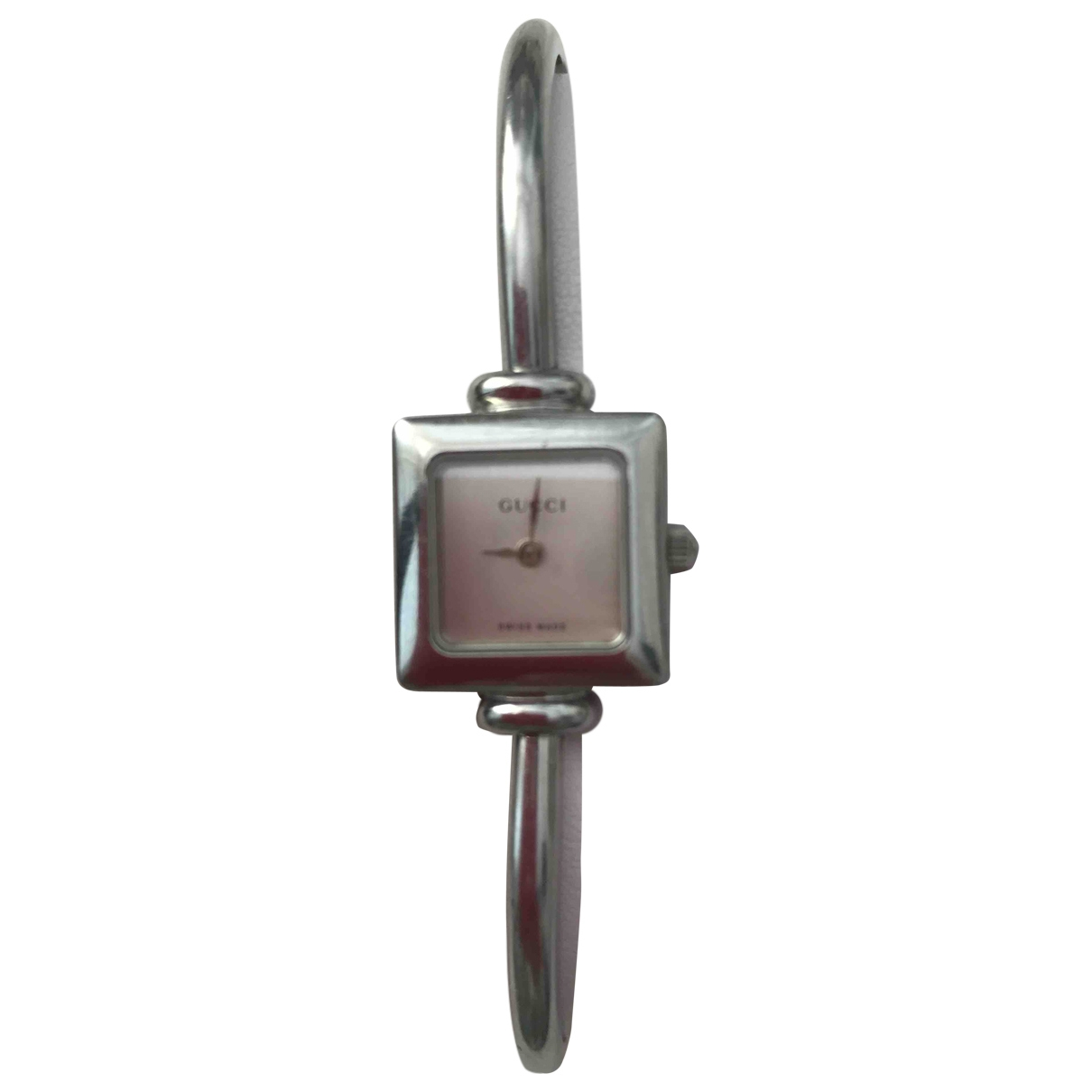 Non Signe / Unsigned \N Uhr in  Silber Stahl