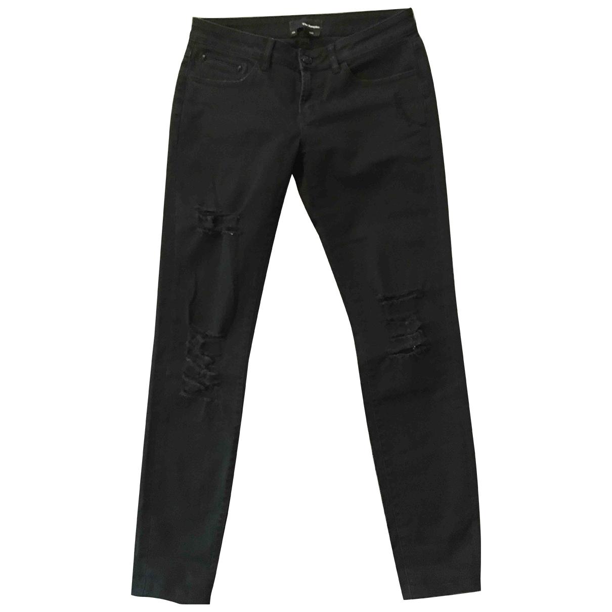 The Kooples \N Black Denim - Jeans Jeans for Women 38 FR