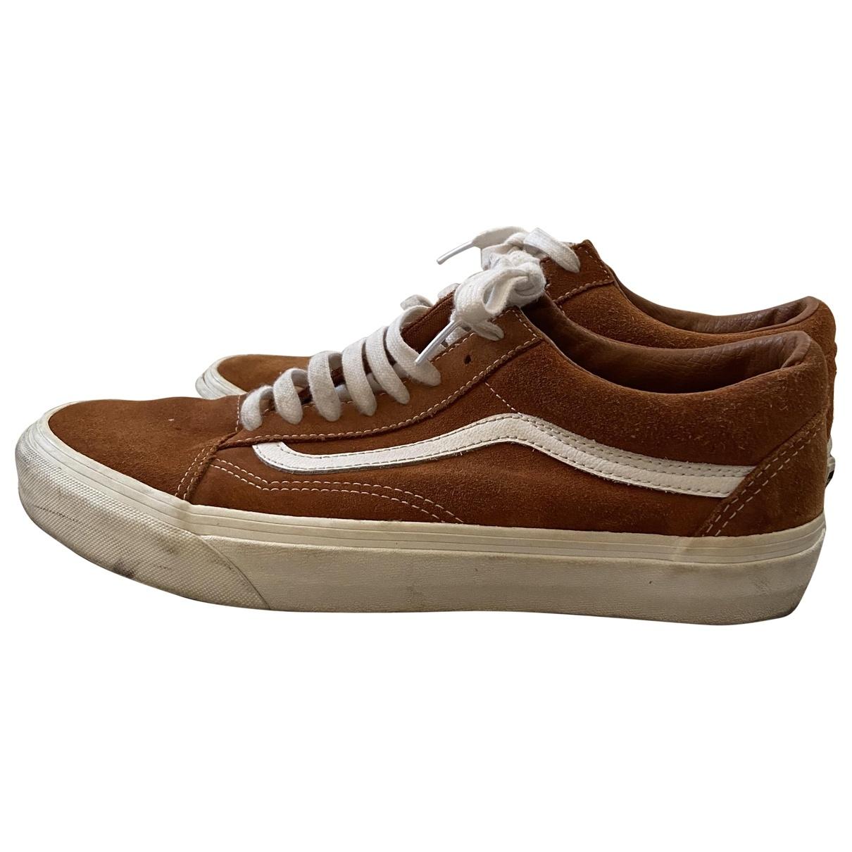 Vans \N Sneakers in  Kamel Veloursleder