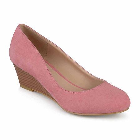 Journee Collection Womens Telora Slip-On Shoe, 10 Medium, Pink