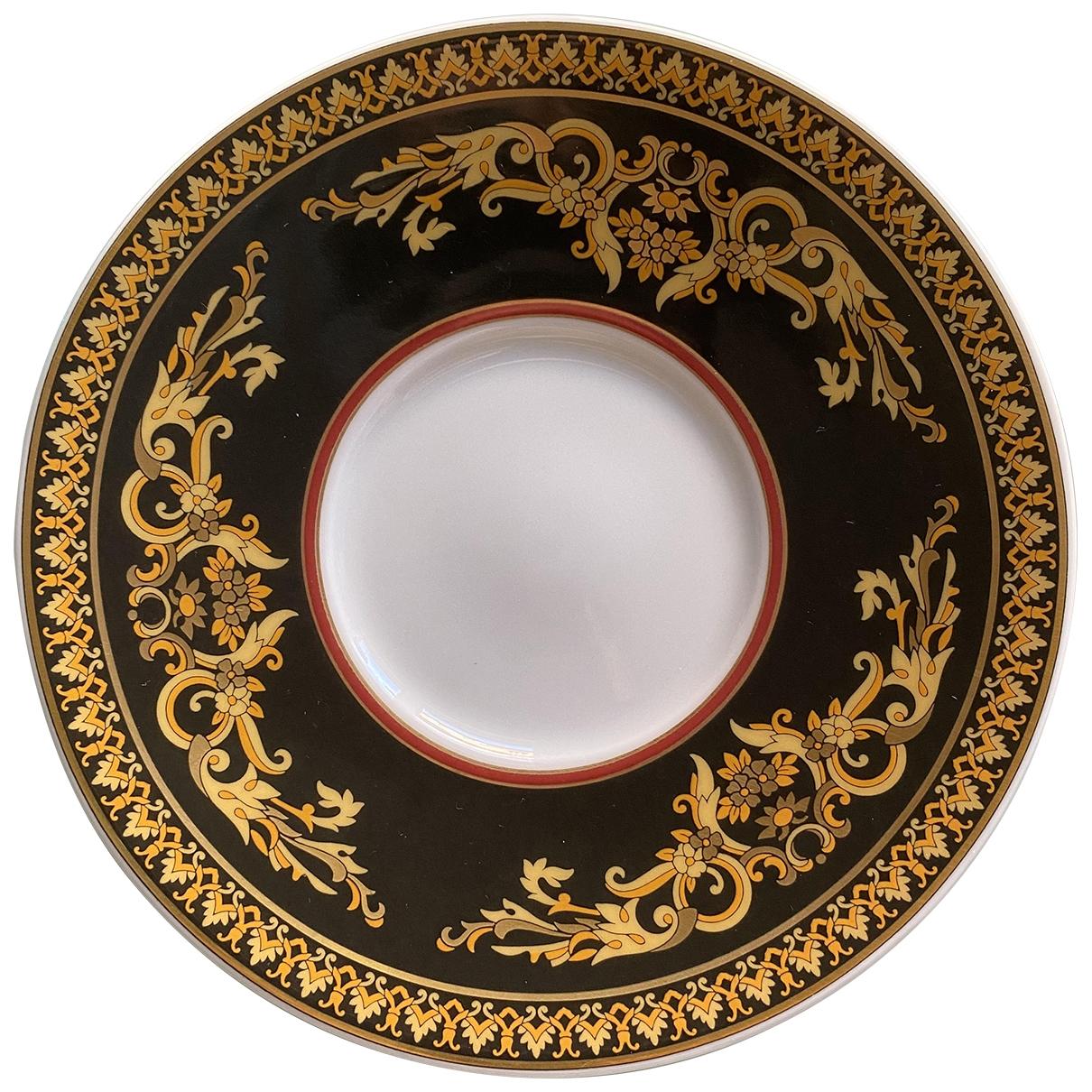 Versace - Arts de la table   pour lifestyle en porcelaine - noir
