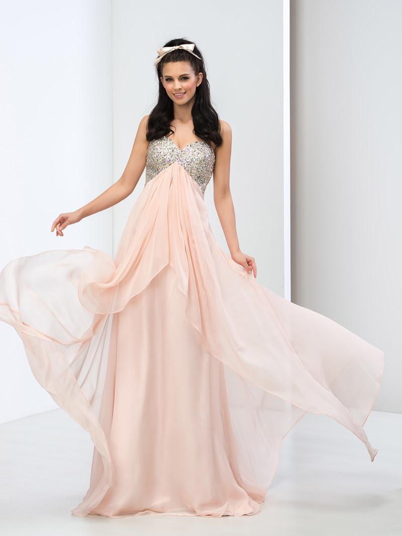Ericdress Sweetheart Sequins Beaded Prom Dress