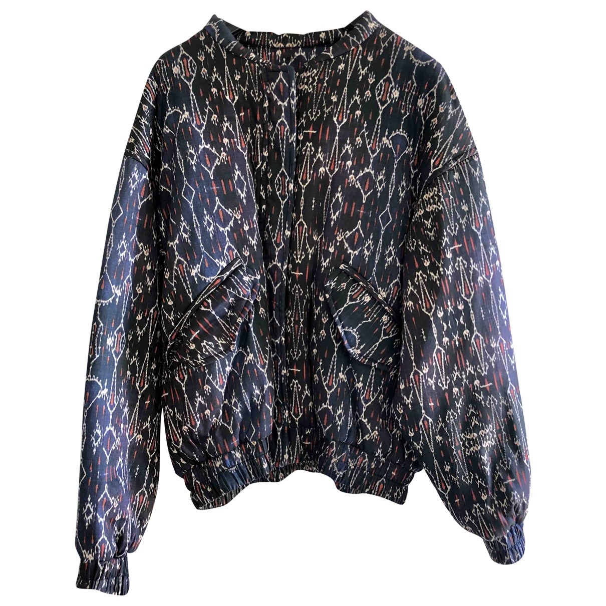 Isabel Marant \N Multicolour Cotton Leather jacket for Women 38 FR