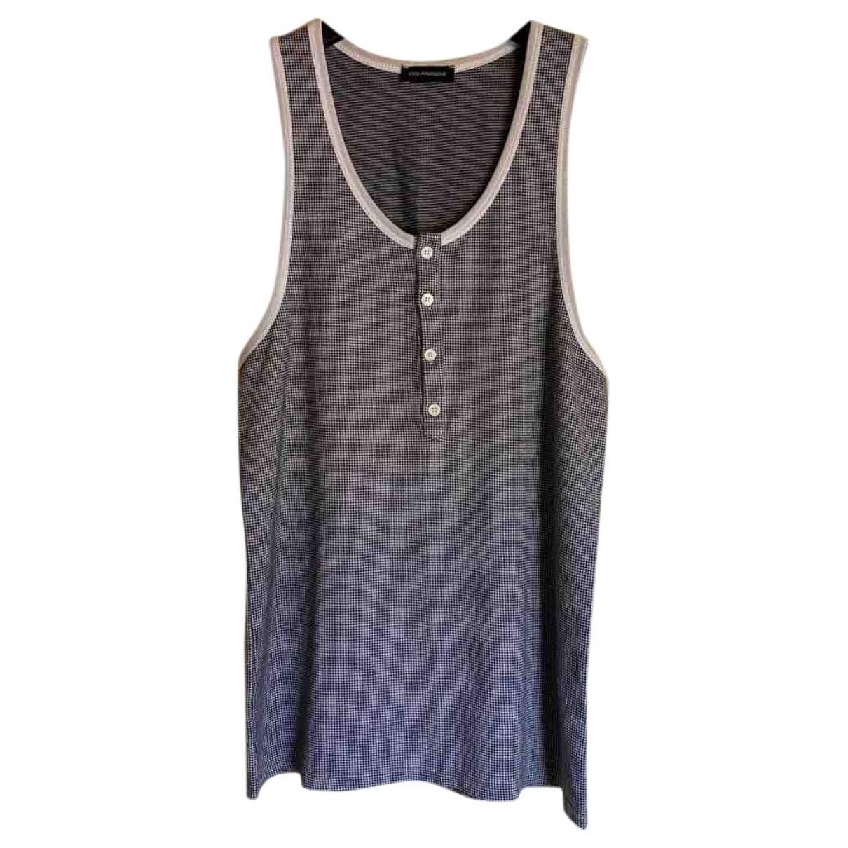 Kris Van Assche \N T-Shirts in  Anthrazit Baumwolle