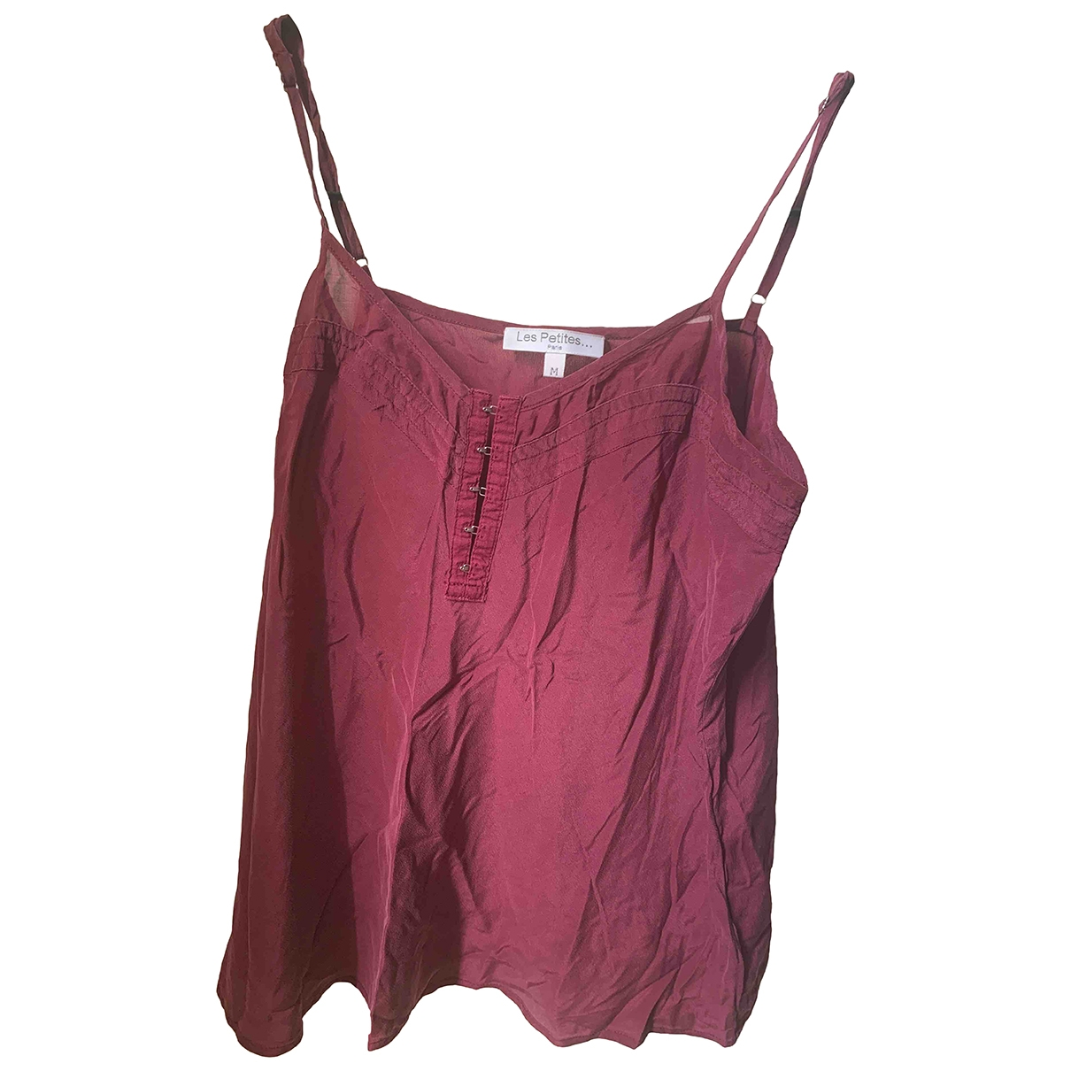 Les Petites \N Purple Silk  top for Women M International