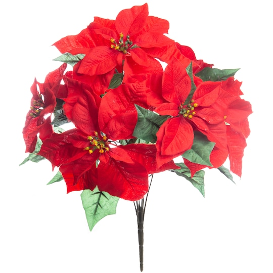 Red Poinsettia Bush By Ashland® | Michaels®