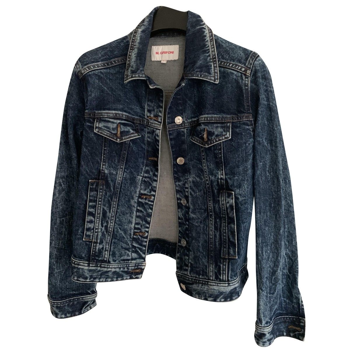 Mauro Grifoni \N Blue Denim - Jeans jacket for Women 40 IT