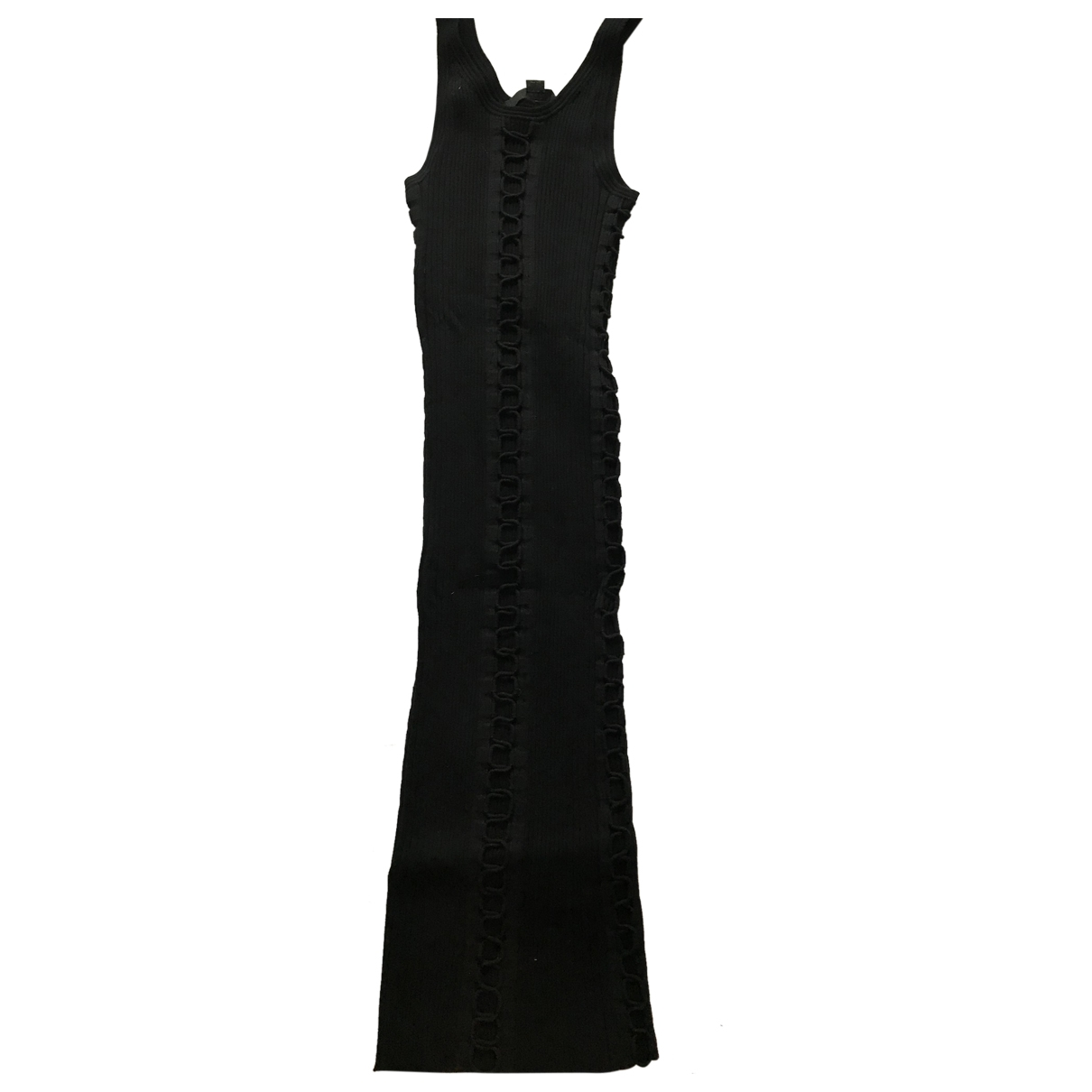 Alexander Wang - Robe   pour femme en coton - noir