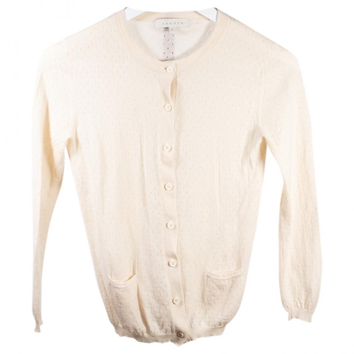 Sandro \N Beige Cashmere Knitwear for Women M International