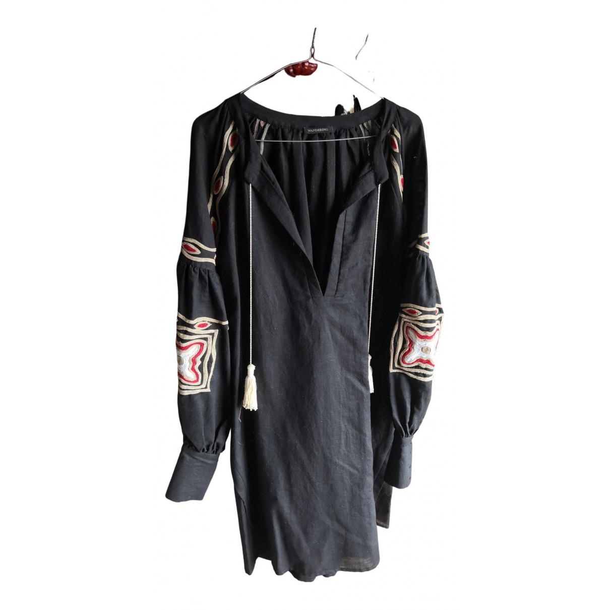 Mini vestido de Lino Wandering