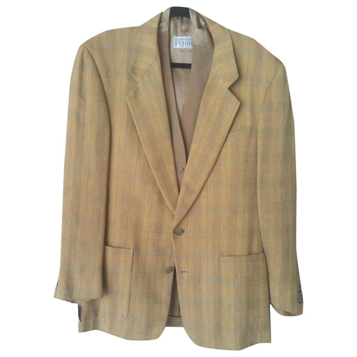 Gianfranco Ferré \N Multicolour Linen Suits for Men 52 IT