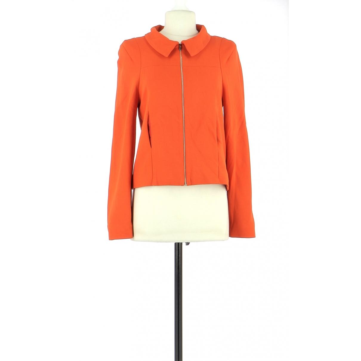 Non Signé / Unsigned \N Orange jacket for Women 36 FR