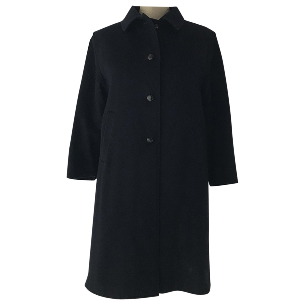 Non Signé / Unsigned \N Blue Wool jacket & coat for Kids 12 years - XS FR