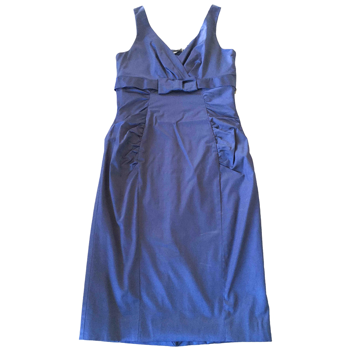 Flavio Castellani \N Kleid in  Blau Viskose
