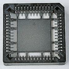 E-TEC 1.27mm Pitch 32 Way PLCC Socket