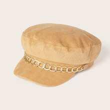 Baeckerjungen Hut mit Kette Dekor