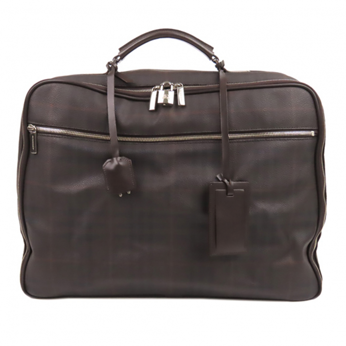 Burberry N Brown Cloth Travel bag for Women N