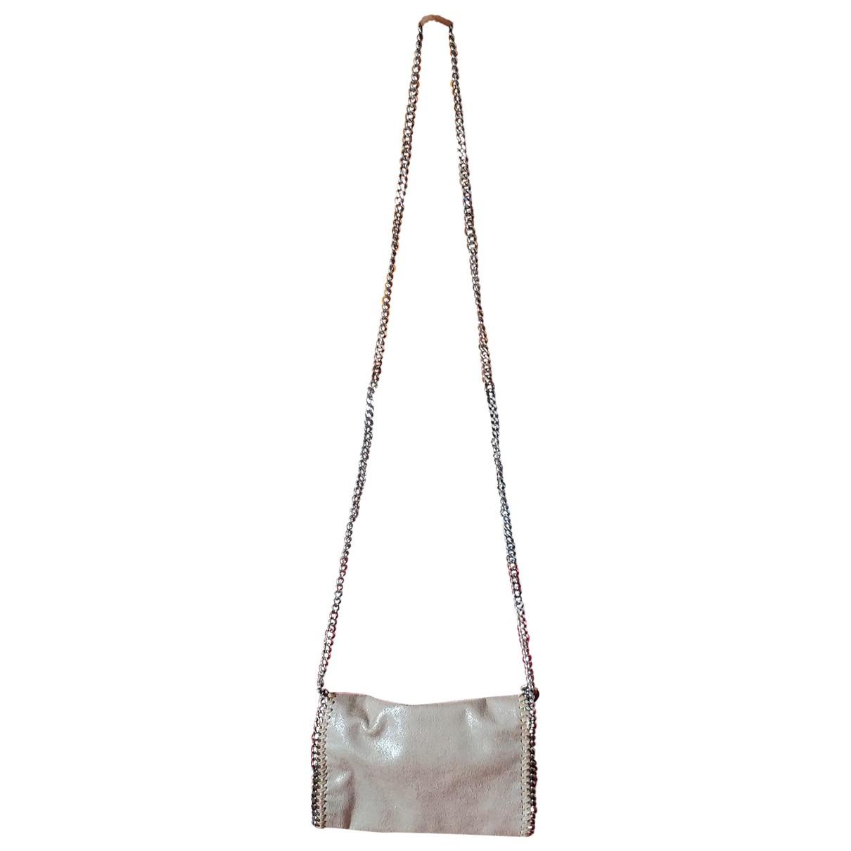 Stella Mccartney \N Handtasche in  Beige Synthetik