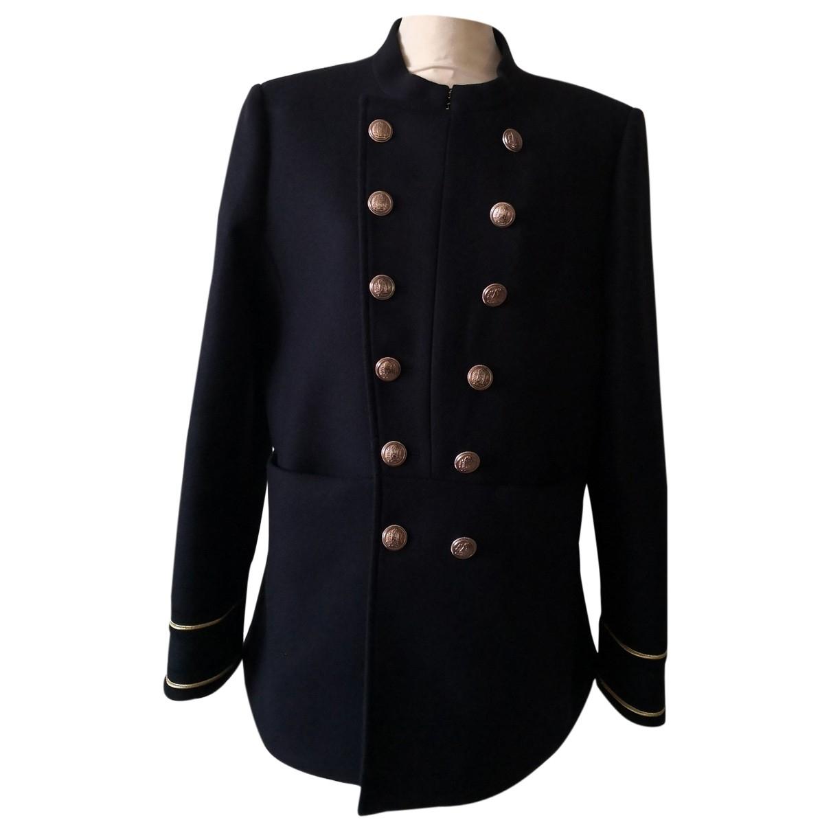 & Stories \N Navy Wool coat for Women 42 FR