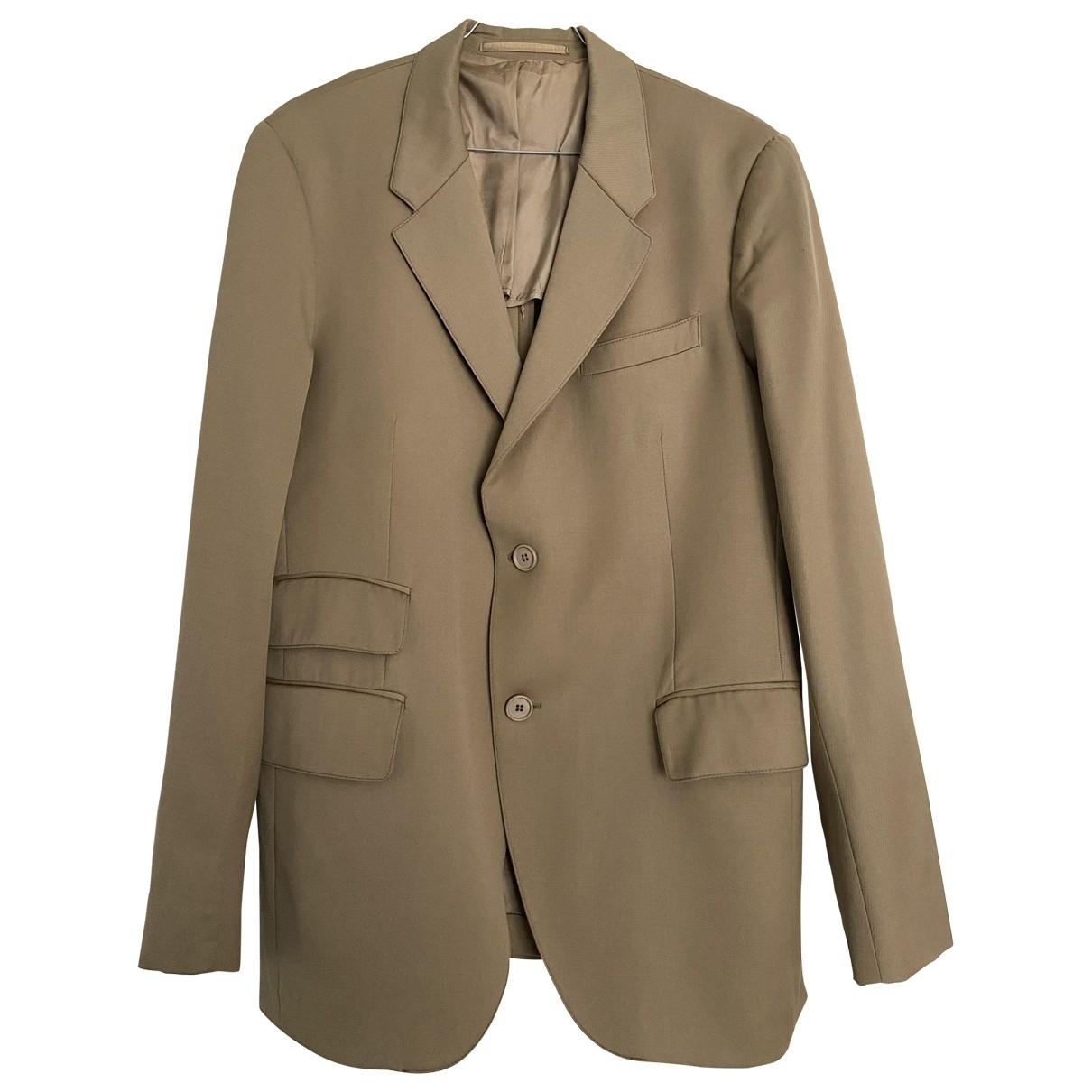 Prada \N Beige Wool jacket  for Men 52 FR