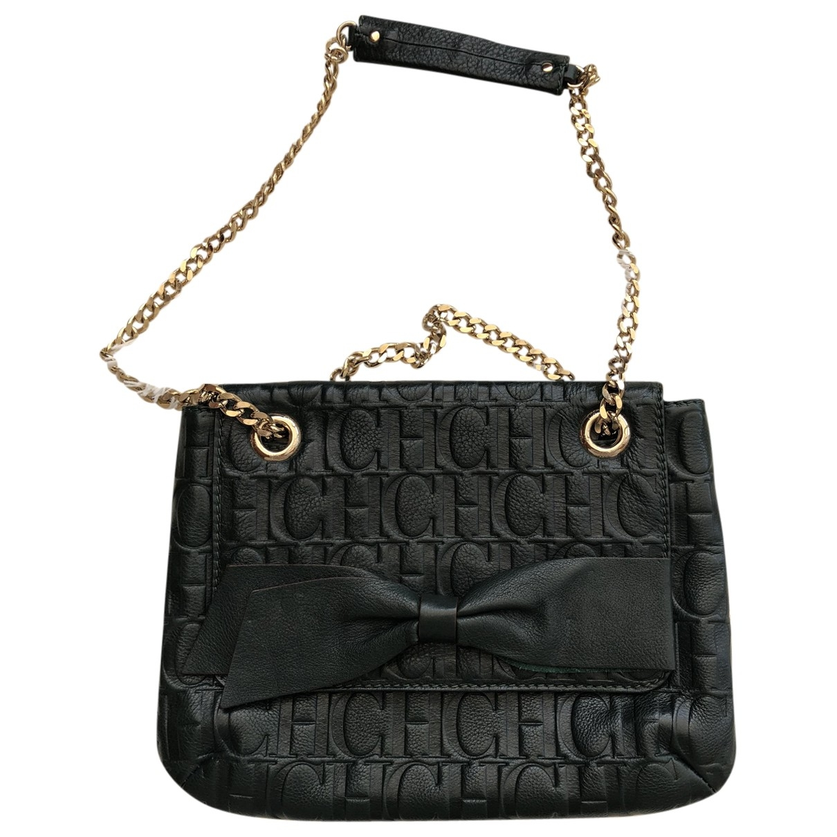 Carolina Herrera \N Green Leather handbag for Women \N