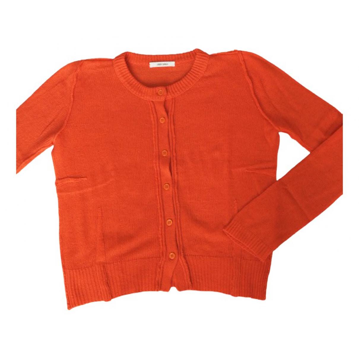 - Pull   pour femme en cachemire - orange
