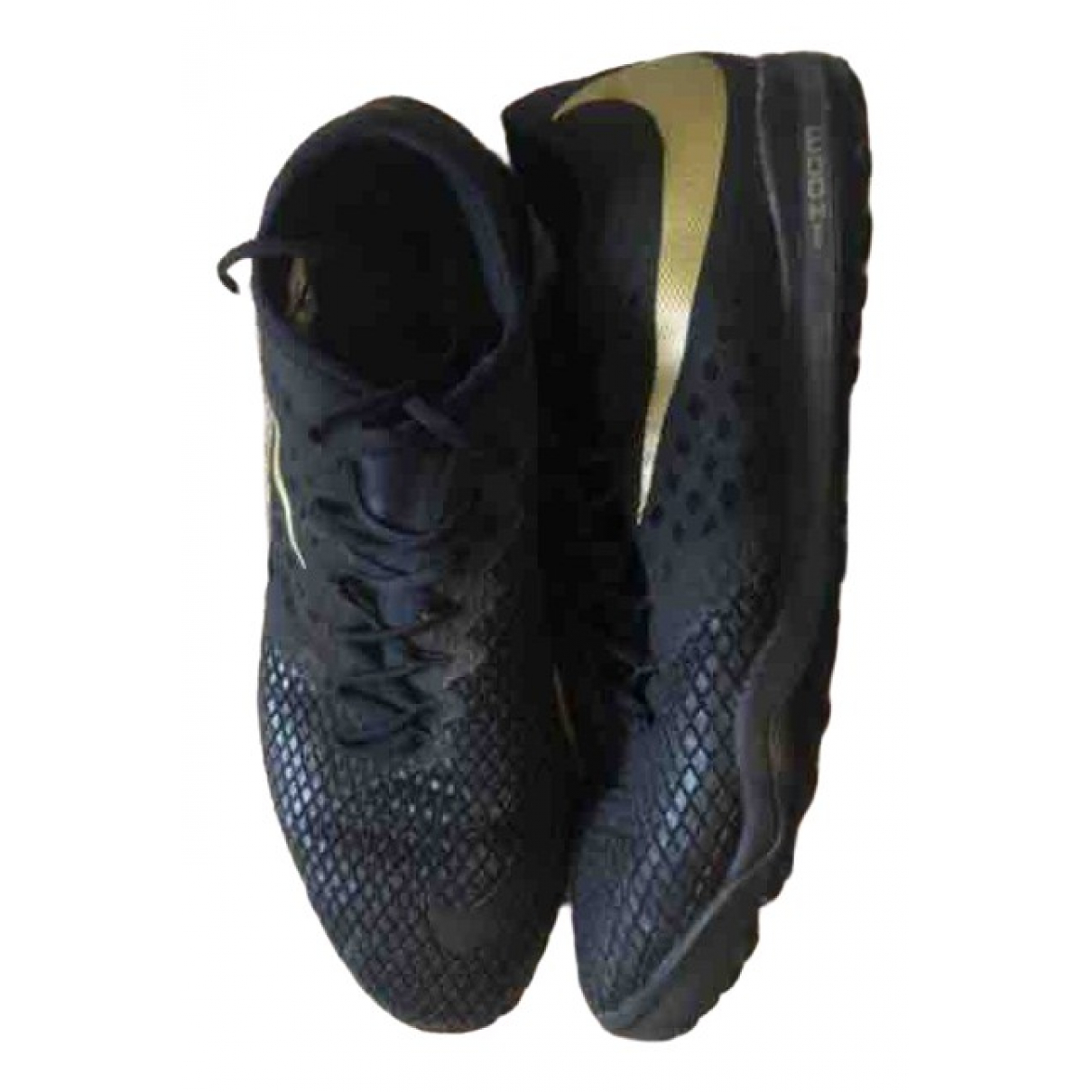 Nike \N Black Leather Boots for Men 11.5 UK