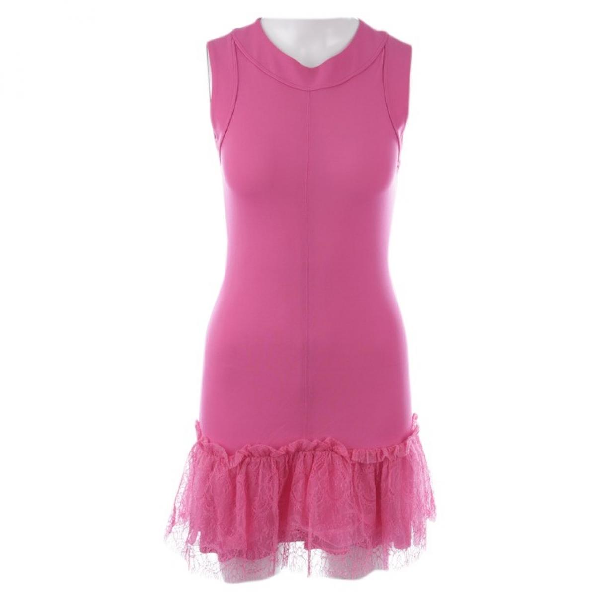 Red Valentino Garavani \N Pink Silk dress for Women 34 FR