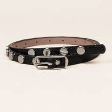 Metal Decor Buckle Belt