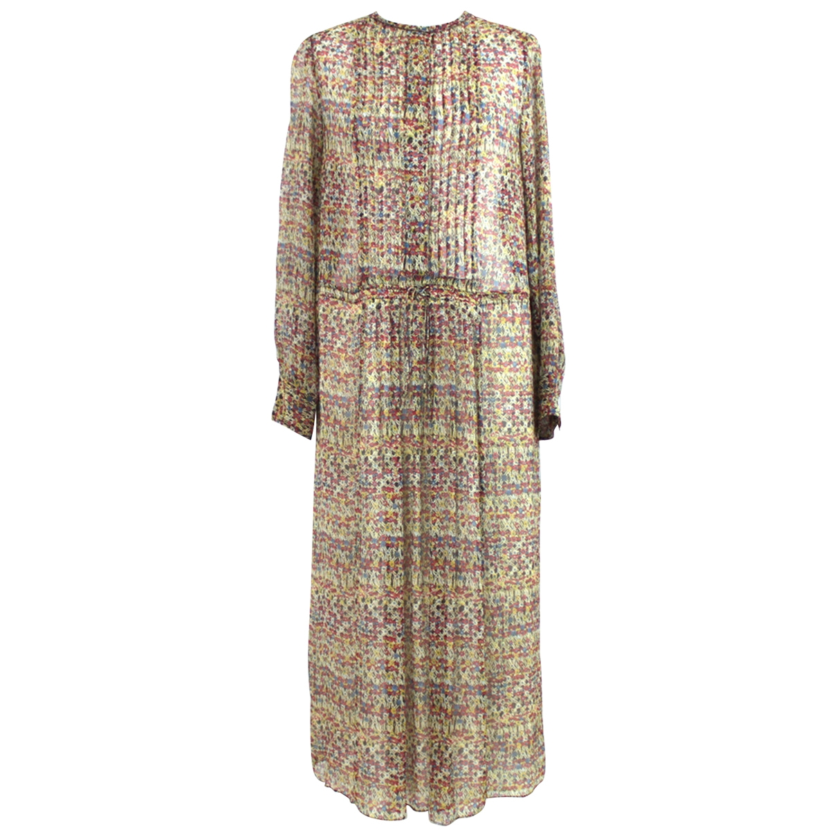 Isabel Marant Etoile \N Beige Silk dress for Women 34 FR