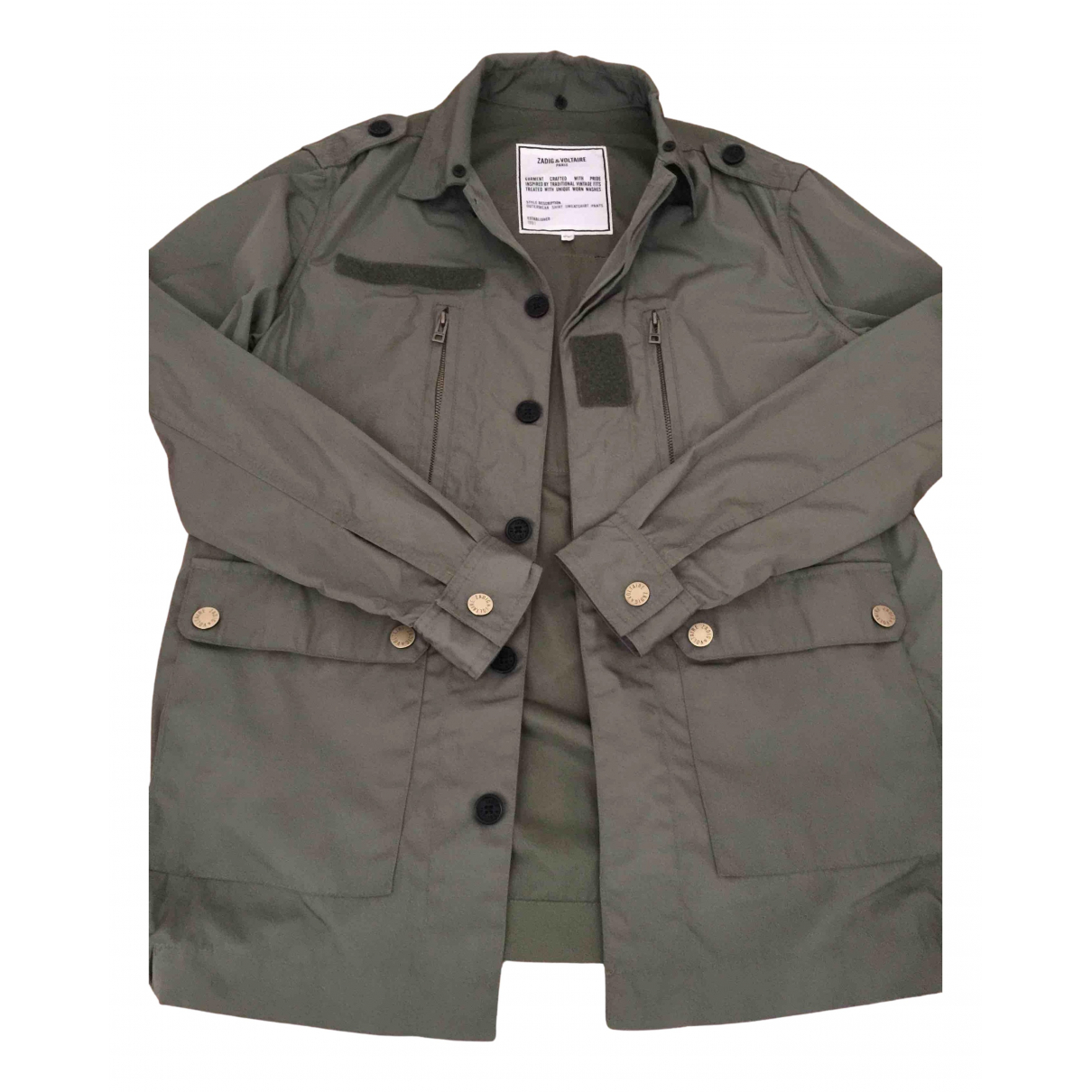 Zadig & Voltaire N Khaki jacket & coat for Kids 12 years - XS FR
